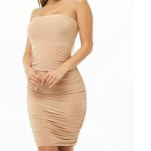 Ruched Tube Dress never worn!